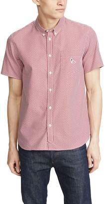 MAISON KITSUNÉ Pattern Short Sleeve Shirt