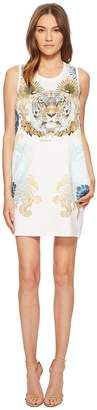 Versace Tiger Sleeveless Dress