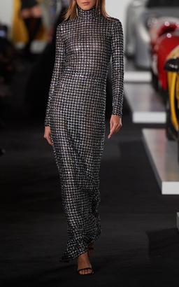 Ralph Lauren Beaded Roseann Long Dress