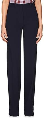 Victoria Beckham Women's Twill Wide-Leg Trousers - Deep Navy