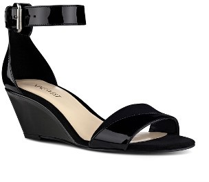 Women's Nine West Pretty Sis Ankle Strap Wedge $69.95 thestylecure.com