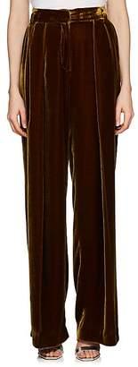 Fendi Women's Relaxed Velvet Pants