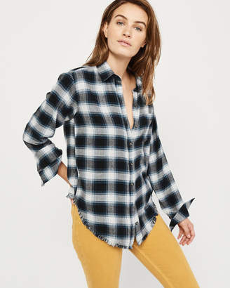 Abercrombie & Fitch Slim Boyfriend Flannel Shirt