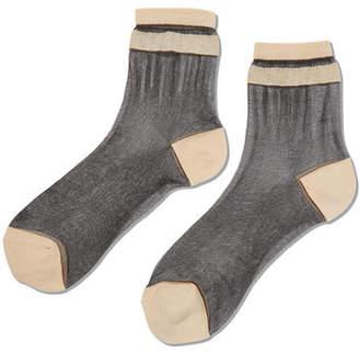 Hot Sox Sheer Anklet Socks
