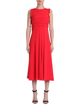 RED Valentino Summer Crepe Long Dress