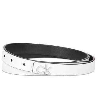 Calvin Klein Skinny Flat Strap Belt
