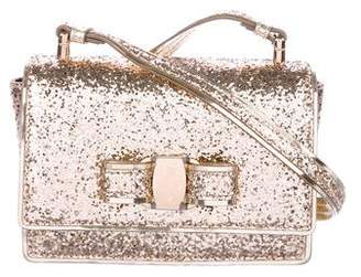 Salvatore Ferragamo Glitter Shoulder Bag