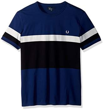 Fred Perry Men's Blocked Stripe T-Shirt