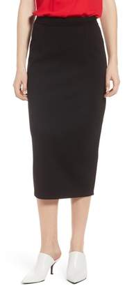 Halogen Pique Ponte Skirt