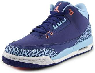 Nike Jordan Air Jordan 3 Retro GS Youth US Purple Sneakers