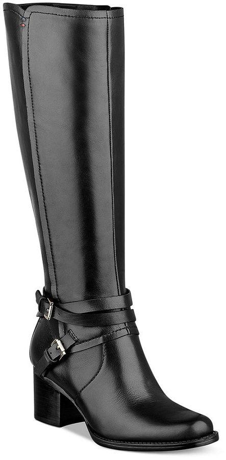 Tommy Hilfiger Gerdie Mid Heel Tall Boots