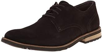 Rockport Men's Ledge Hill 2 Plain Toe Oxford Dark Bitter Chocolate Suede 8 M (D)-