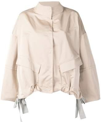 Fabiana Filippi oversized high neck jacket