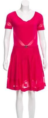 Versace Jersey Knee-Length Dress w/ Tags