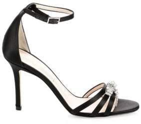 Kate Spade Ingrida Satin Stiletto Sandals