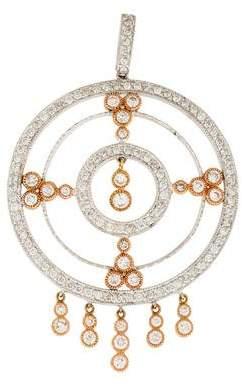 Sonia B Diamond Medallion Pendant