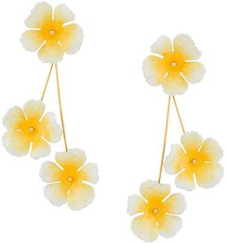 Jennifer Behr flower earrings