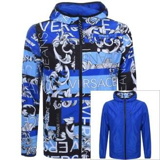 Versace Reversible Jacket Blue