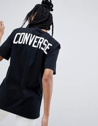 Converse Soccer T-Shirt In Black