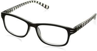 Sight Station Women's Evelyn 1016322-100.COM Rectangular Reading Glasses
