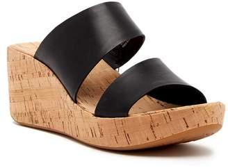KORKS Deltona Platform Wedge Sandal