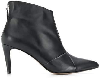 Parallèle matte finish boots