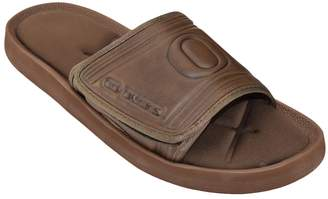 NCAA Kohl's Adult Oregon Ducks Memory Foam Slide Sandals