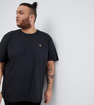 Lyle & Scott PLUS Logo T-Shirt in Black