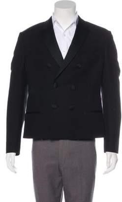 Neil Barrett Double-Breasted Tuxedo Jacket black Double-Breasted Tuxedo Jacket