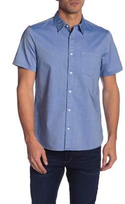 Calvin Klein Short Sleeve Modern Fit Button Front Shirt