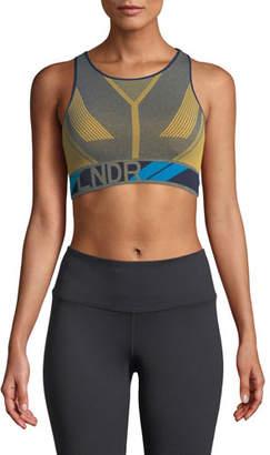 LNDR Eagle Seamless Knitted Paneled Sports Bra