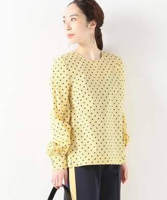 Journal Standard (ジャーナル スタンダード) - JOURNAL STANDARD L'ESSAGE 【BAUM UND PFERDGARTEN】4014 LIGHT COTTON LEMON DOT:ブラウス