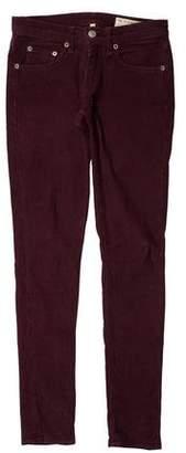Rag & Bone Corduroy Low-Rise Pants