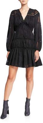 Chloé Oliver Burnout Empire Dress