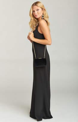 Show Me Your Mumu Hyde Evening Clutch Bag ~ Black