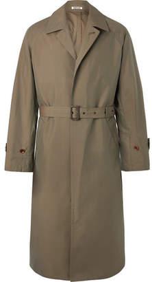Auralee Cotton-Gabardine Trench Coat