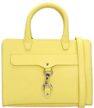 Rebecca Minkoff Yellow Leather Mini Satchel Bag