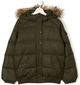 Pyrenex Kids padded hooded coat