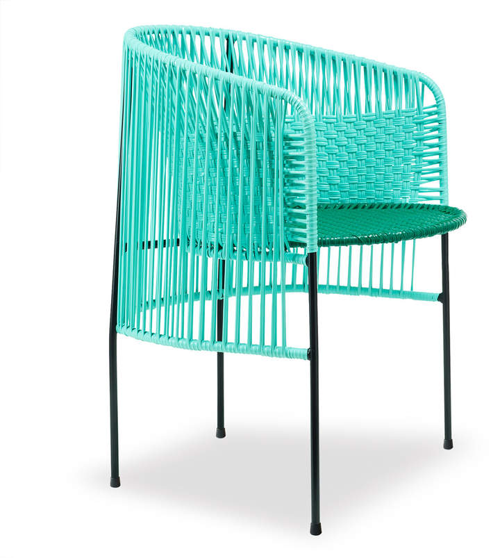 ames - caribe Dining Chair, mint / grün / schwarz