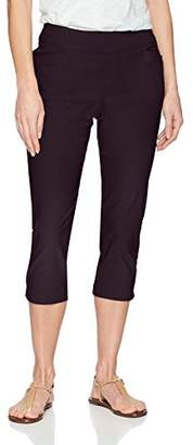 Lee Women's Modern Series Midrise Fit Elena Pull-On Capri Pant
