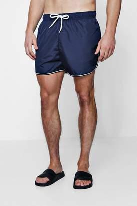 boohoo Runner Swim Shorts With Sports Trim