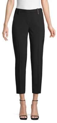 Brunello Cucinelli Classic Pleated Cropped Pants