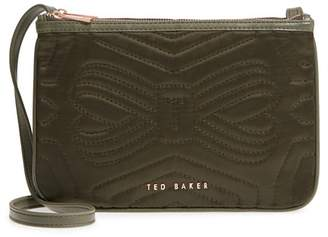 Ted Baker Janaa Quilted Bow Crossbody Bag