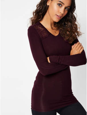 George Plum Heat Retaining Long Sleeve Thermal Top