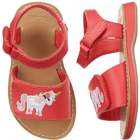 Gymboree Unicorn Sandal