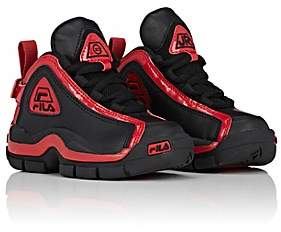 Fila Haus of JR x Kids' Leather Sneakers-Black