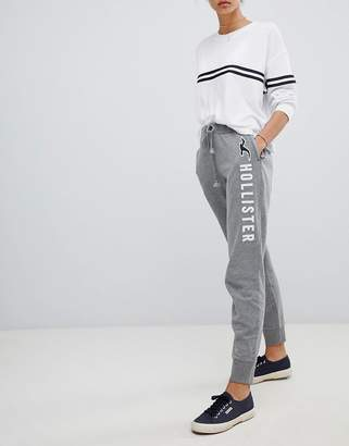 Hollister logo classic track pant