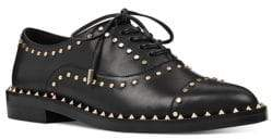Nine West Garroy Studded Leather Oxfords