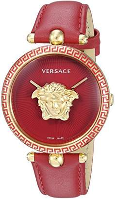Versace Women's 'Palazzo Empire' Swiss Quartz Gold-Tone and Stainless Steel Casual Watch