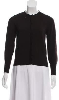 Henri Bendel Wool Long Sleeve Cardigan
